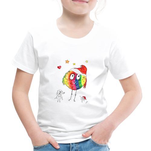 Happy Weihnachtskugelbird - Kinder Premium T-Shirt