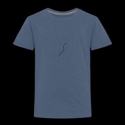logo Style bleu - T-shirt Premium Enfant