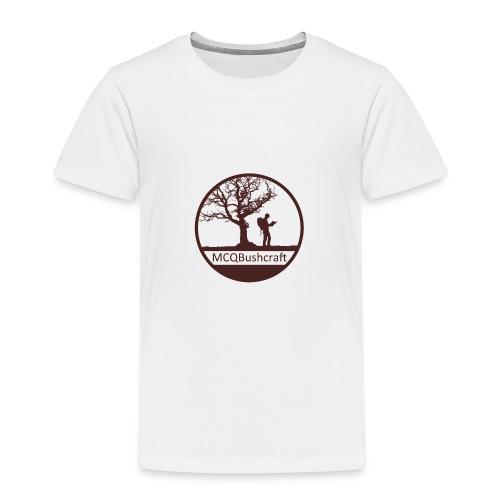 MCQBushcraft Logo Dark - Kids' Premium T-Shirt