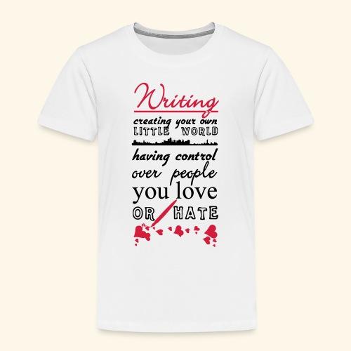 Writing - Kids' Premium T-Shirt