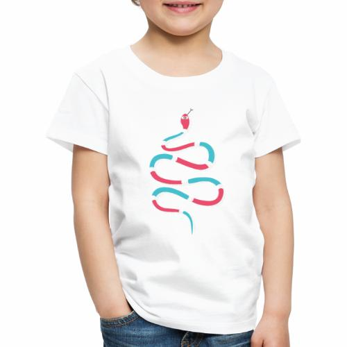 Wiggly snake - Kids' Premium T-Shirt