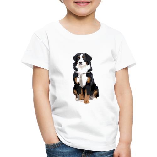 Freja sitter framifrån - Premium-T-shirt barn