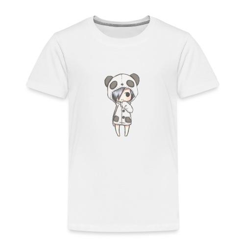 Cute girl panda - Kids' Premium T-Shirt