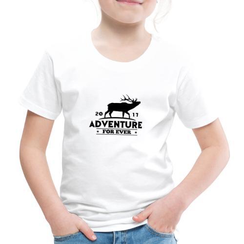 ADVENTURE FOR EVER - CERVO - Maglietta Premium per bambini