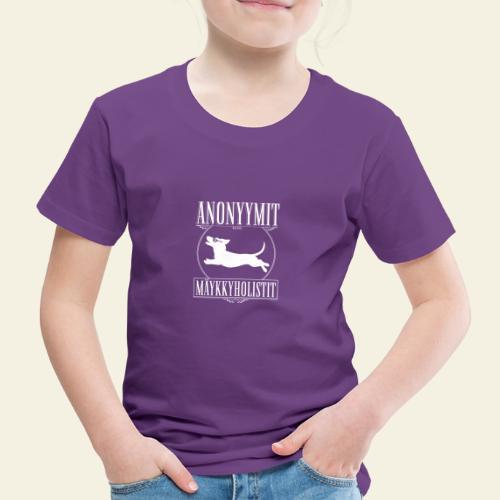Mäykkyholisti LK - Lasten premium t-paita