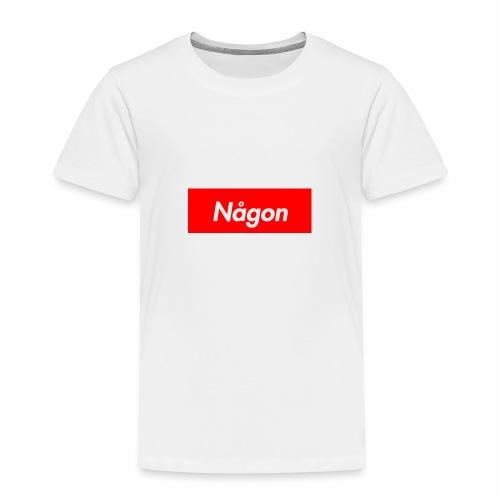 någon - Premium-T-shirt barn