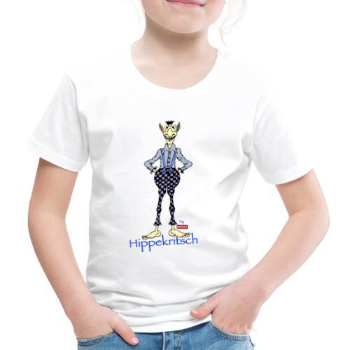 patame Hippekritsch Blau - Kinder Premium T-Shirt