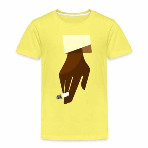 Hand mit Kippe - Kinder Premium T-Shirt