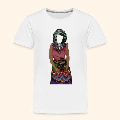 Femme avec jare - T-shirt Premium Enfant