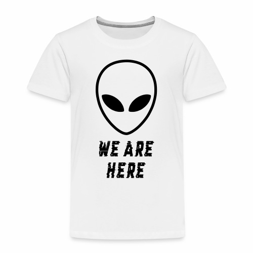 Alien Were Here - Kids' Premium T-Shirt