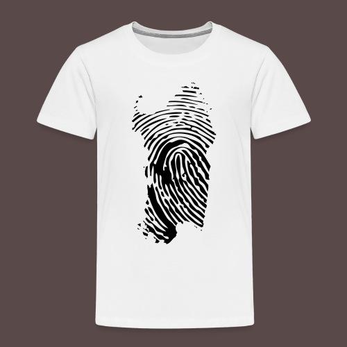 Sardegna Impronta Digitale - Maglietta Premium per bambini