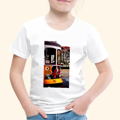 Scorcio tram colorato - Maglietta Premium per bambini