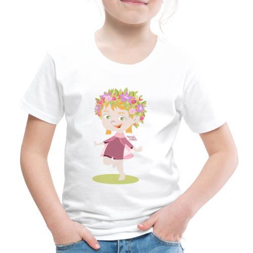Danser sous le soleil de minuit en Finlande - T-shirt Premium Enfant
