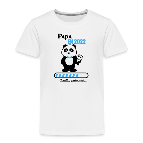 Papa en 2022 - Kids' Premium T-Shirt
