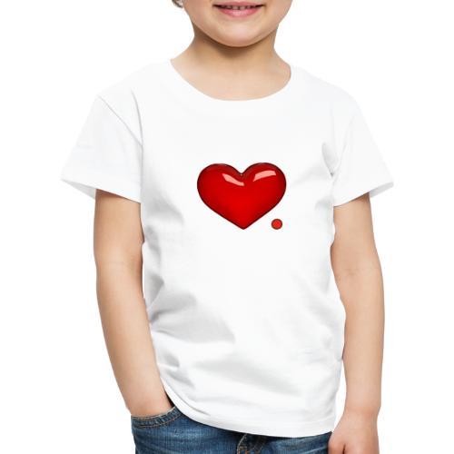 Love. Regalo. Coppia. Amore. - Maglietta Premium per bambini