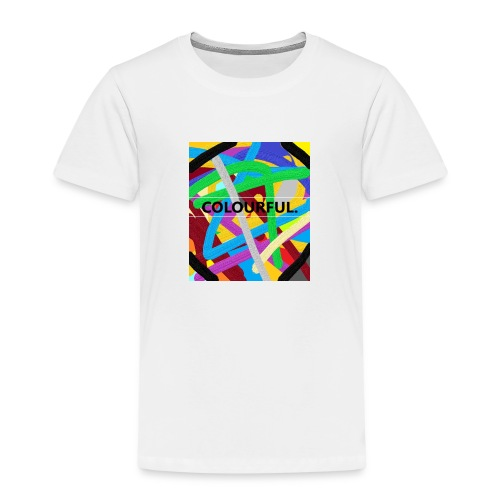 COLOURFUL - Kinder Premium T-Shirt