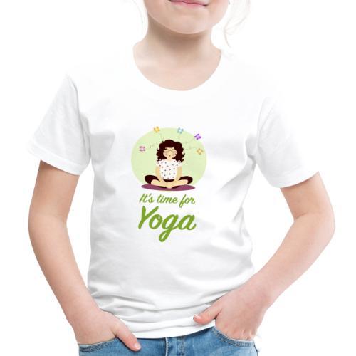 Yoga verticale - Maglietta Premium per bambini