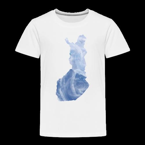 Suomi Finland - Lasten premium t-paita