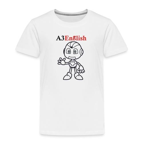 A3English Robot 51 - Kids' Premium T-Shirt