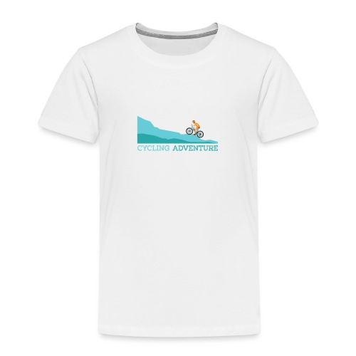 cycling (4) - Kinder Premium T-Shirt