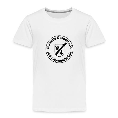Rockcity Oesdorf Stempel1 - Kinder Premium T-Shirt