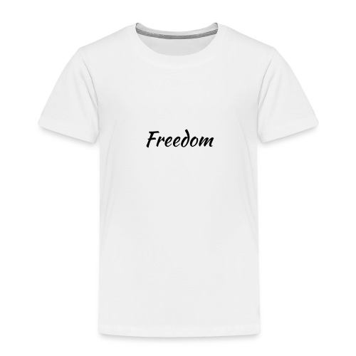 Freedom black - Premium-T-shirt barn