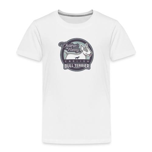 English Bull Terrier Children´s Nanny - Kinder Premium T-Shirt
