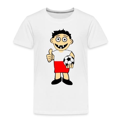 Polnischer Junge - Kinder Premium T-Shirt