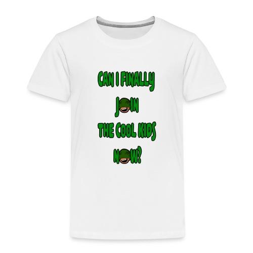 Cool Kids White T-Shirt - Kids' Premium T-Shirt