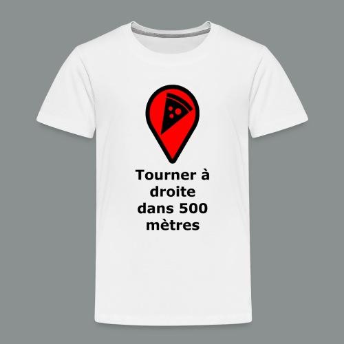 T-shirt Geek pizza - T-shirt Premium Enfant