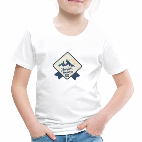 Barfuss denken - Kinder Premium T-Shirt
