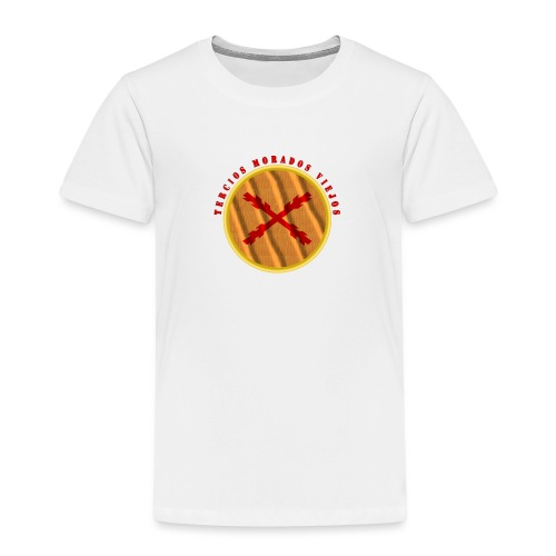 Tercios Morados VIejos - Camiseta premium niño