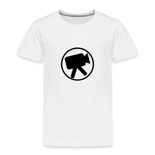 logo zwart videotijd - Kinderen Premium T-shirt
