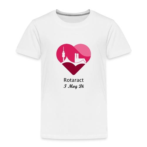 DeuKo19 (schwarzes Logo) - Kinder Premium T-Shirt