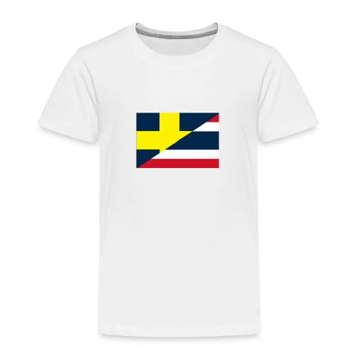 thailands flagga dddd png - Kids' Premium T-Shirt