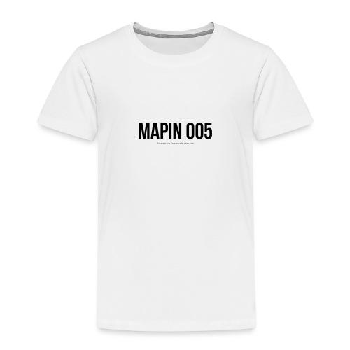 MAPIN 005 OFICIAL - Camiseta premium niño