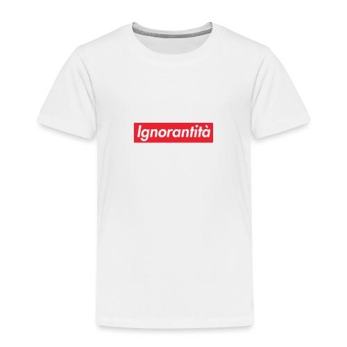 Ignorantità Arena Ignorante - Maglietta Premium per bambini