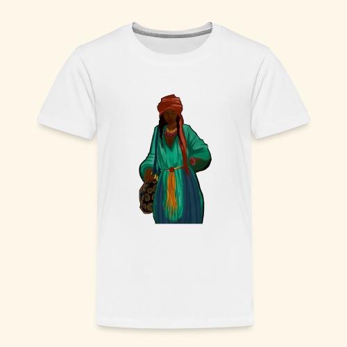 Femme avec sac motif - T-shirt Premium Enfant