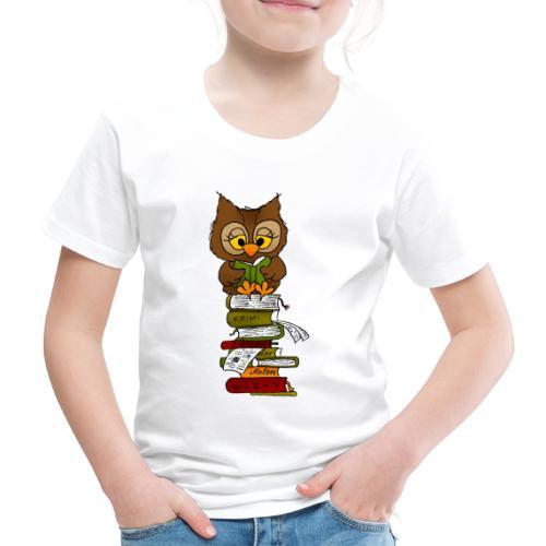 Büchereule Leseeule - Kinder Premium T-Shirt