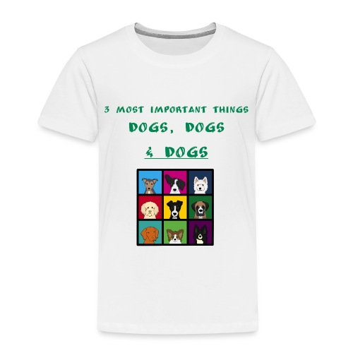 3 most important things - - Kids' Premium T-Shirt
