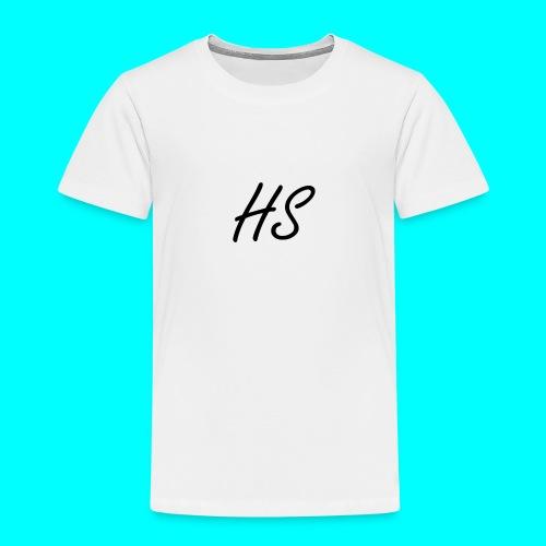 HS Hoodie, Navy Blue - Kids' Premium T-Shirt