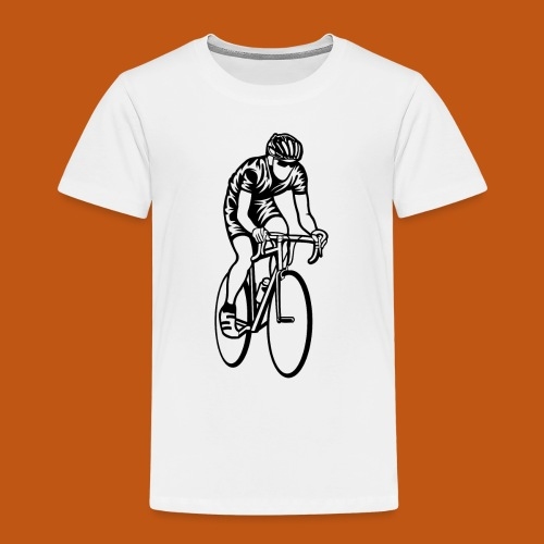 Rennrad / Racing Bicycle 01_schwarz - Kinder Premium T-Shirt