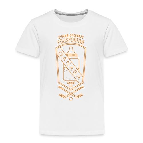 polisportiva scudo bimbo - Maglietta Premium per bambini