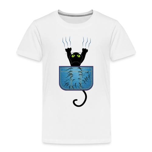 Gatete bolsillo - Camiseta premium niño