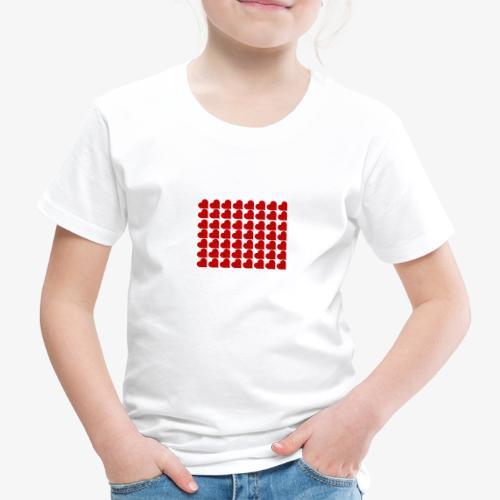 Hearts - Maglietta Premium per bambini