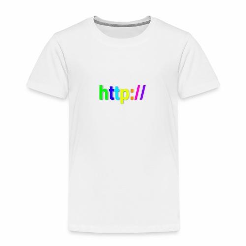 T-SHIRT Potocollo HTTP - Maglietta Premium per bambini