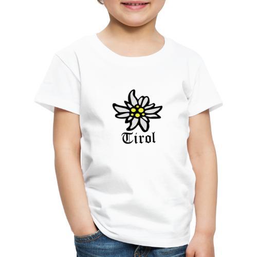 Tirol Edelweiss - Kinder Premium T-Shirt
