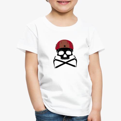 Climber Pirats skull black - Climbing Pirates - Kids' Premium T-Shirt