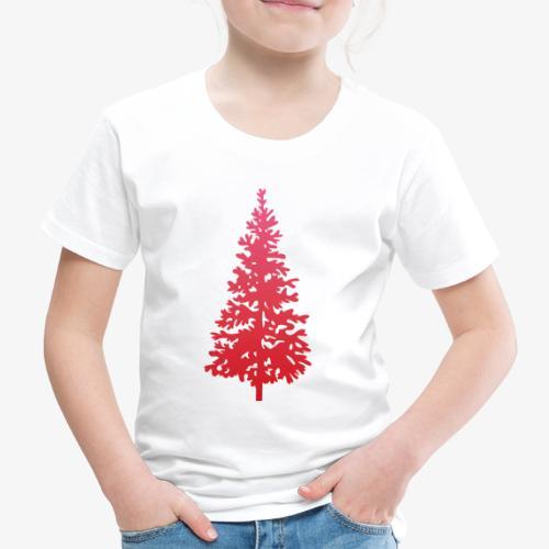 navidad árbol regalos fiesta Christmas - Camiseta premium niño