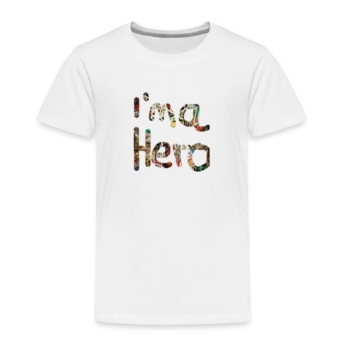 I'm aHero Grafitti - Kinder Premium T-Shirt